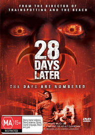 28 Days Later on DVD image