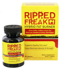 Ripped Freak Fat Burner image