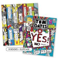 Welcome to the Brilliant World of Tom Gates Boxed Set (#1-8) by Liz Pichon