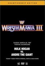 WWE - WWF: WrestleMania III - The Championship Edition (2 Disc Set) on DVD