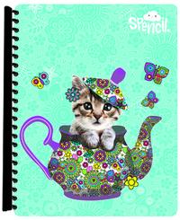 Spencil: A4 Display Book - Flutterby Cat (20 Pocket)