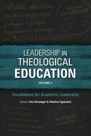 Leadership in Theological Education: Volume 1 image