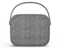 N:CHE N1 Fabric Bluetooth Speaker - Grey