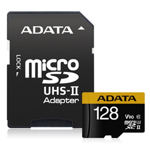 Adata: Premier ONE V90 UHS II Micro SDXC Card - 128GB