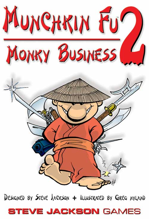 Munchkin Fu 2: Monkey Business Expansion image