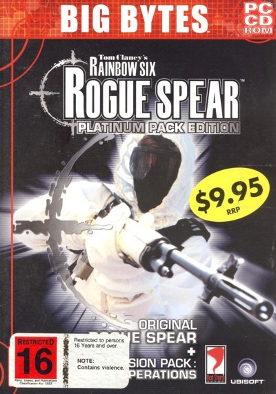 Rainbow Six: Rogue Spear Platinum Pack Edition for PC Games