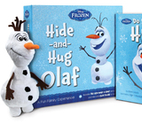 Frozen: Hide-And-Hug Olaf Box Set (Book & Soft Toy) by Disney Book Group
