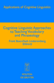 Cognitive Linguistic Approaches to Teaching Vocabulary and Phraseology image