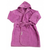 Silly Billyz Organics - Mini-Me Bath Robe: Plum