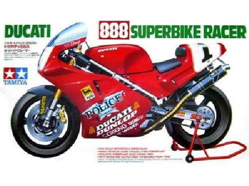 Tamiya 1/12 Ducati 888 Superbike Racer - Model Kit