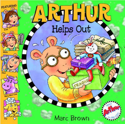 Arthur Helps Out by Marc Brown