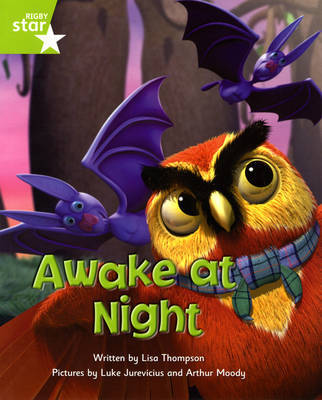 Fantastic Forest: Awake at Night Green Level Fiction (Pack of 6) by Lisa Thompson image