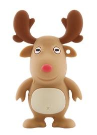 16GB Bone Collection USB Flash Drive - Reindeer