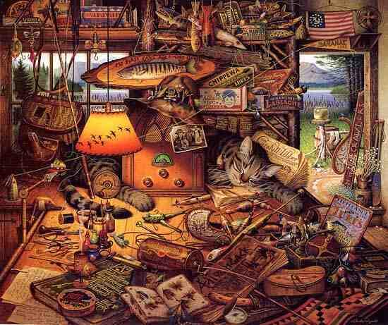 Wysocki: Max in the Adirondacks - 1000 Piece Puzzle