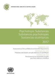 Psychotropic substances 2017 by United Nations.International Narcotics Control Board image