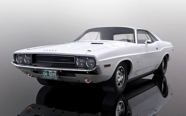 Scalextrix: Dodge Challenger 1970 - White