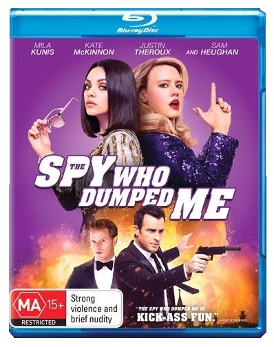 The Spy Who Dumped Me on Blu-ray