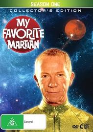 My Favourite Martian Season 1 on DVD