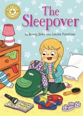 Reading Champion: The Sleepover by Jenny Jinks image