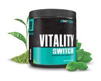 Vitality Switch - Revitalising Wholefood Green Juice - Matcha Mint (30 Serves)
