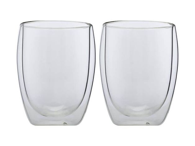 Maxwell & Williams: Blend Double Wall Cup (350ml/Set of 2)