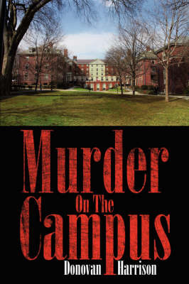 Murder on the Campus by Donovan Harrison image