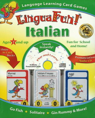 """Linguafun!"" Italian: Language Learning Card Games and CD"