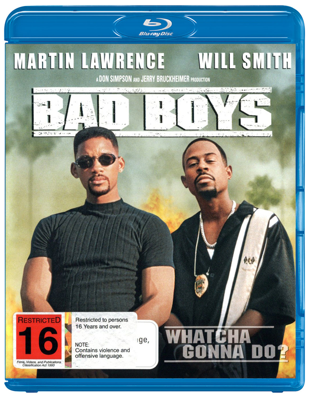 Bad Boys on Blu-ray