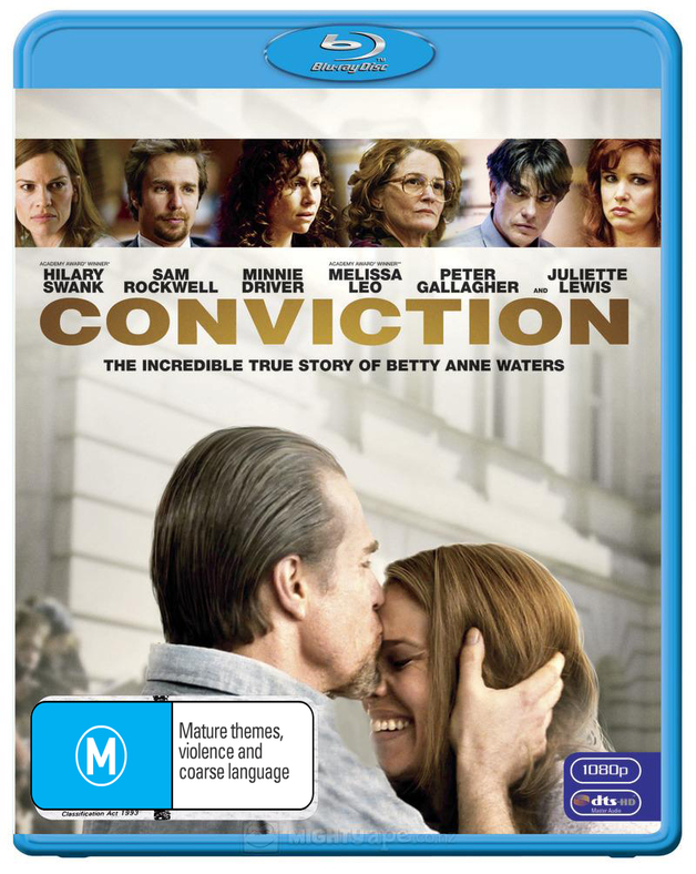 Conviction on Blu-ray