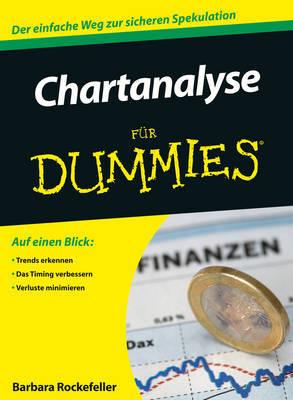 Chartanalyse Fur Dummies by Barbara Rockefeller image