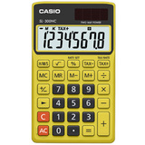 Casio Handheld Calculator - Yellow