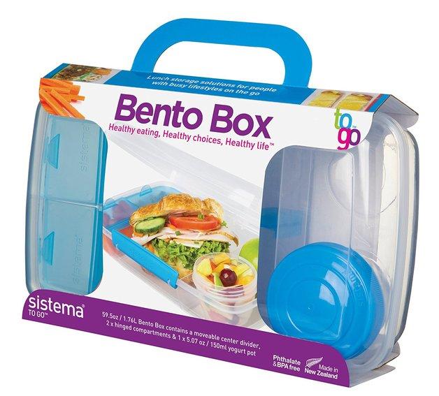 Sistema: To Go- Bento Box (1.76L) - Assorted Colours