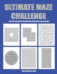 Maze Games for Kids by James Manning image