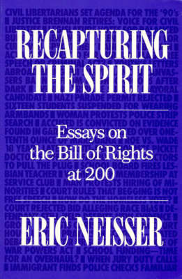 Recapturing the Spirit by Eric Neisser image