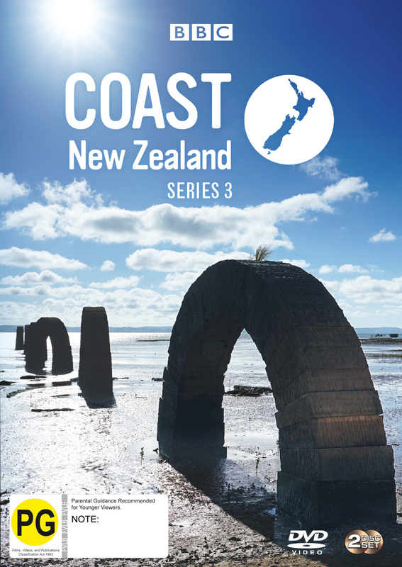 Coast New Zealand Season 3 on DVD