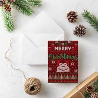 Gorilla Gift: Christmas Cards - Jersey (Pack of 10) image
