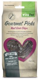 Vitapet: Gourmet Picks Veal Liver Chips (85g) image
