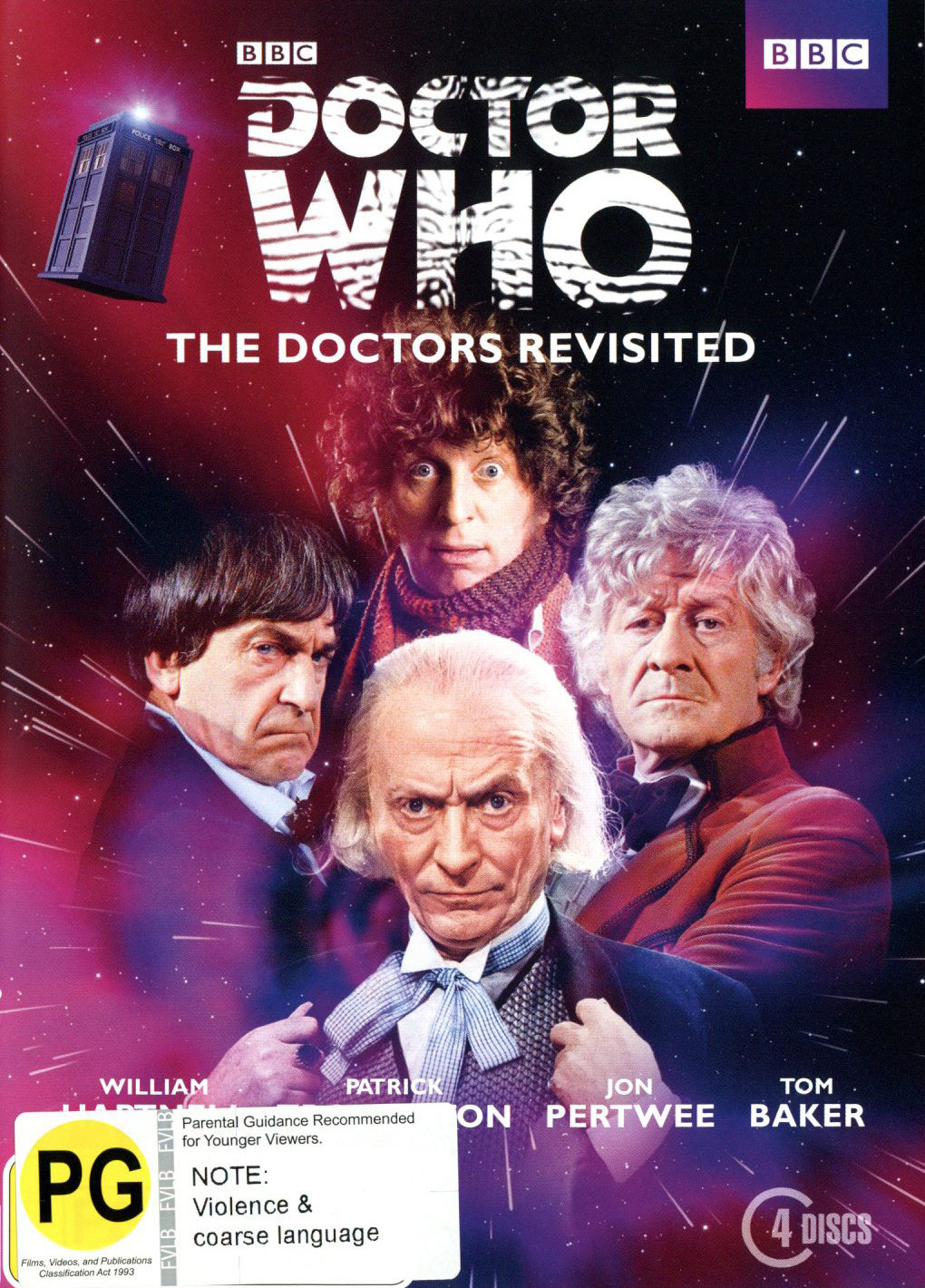 Doctor Who: The Doctors Revisited (1st to 4th) DVD image