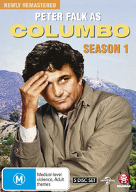 Columbo - Complete Remastered Season One (5 Disc Set) on DVD