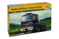 Italeri Berliet R352ch / Renault R360 1:24 Scale Model Kit
