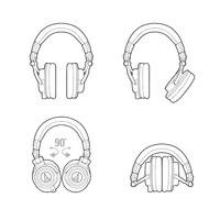 Audio-Technica ATH-M50X Studio Monitors - Black image