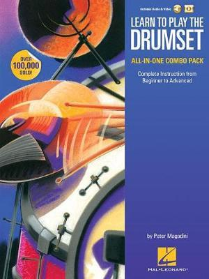 Learn to Play The Drumset All-In-One Combo Pack by Peter Magadini