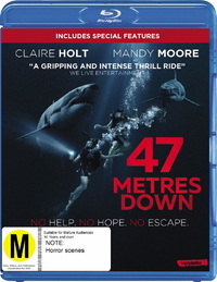 47 Meters Down on Blu-ray