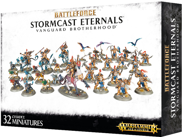 Warhammer Age of Sigmar Battleforce: Vanguard Brotherhood