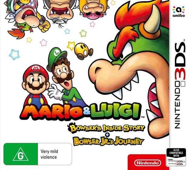 Mario & Luigi: Bowser's Inside Story + Bowser Jr's Journey for 3DS