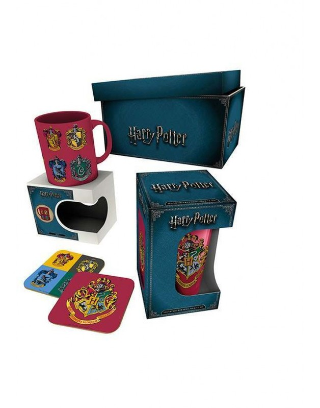 Harry Potter: Crests Gift Pack