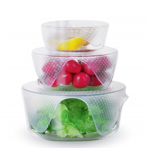 Silicone Food Wraps (4 Pack) image