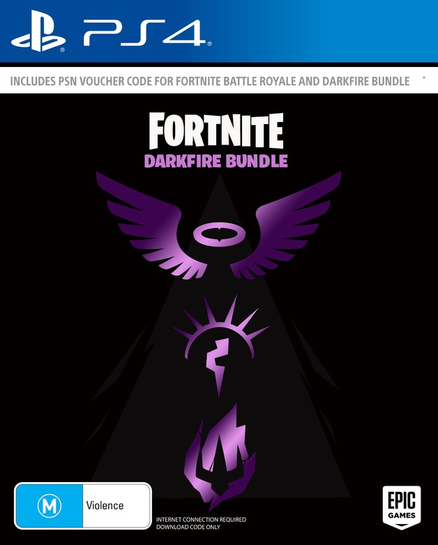 Fortnite: Dark Fire Bundle (code in box) for PS4