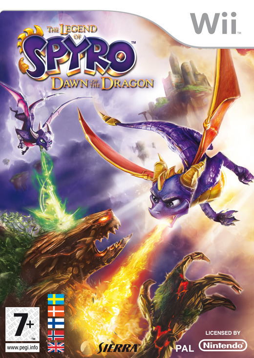 Legend of Spyro: Dawn of the Dragon for Wii