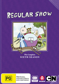 Regular Show - The Complete Sixth Season on DVD